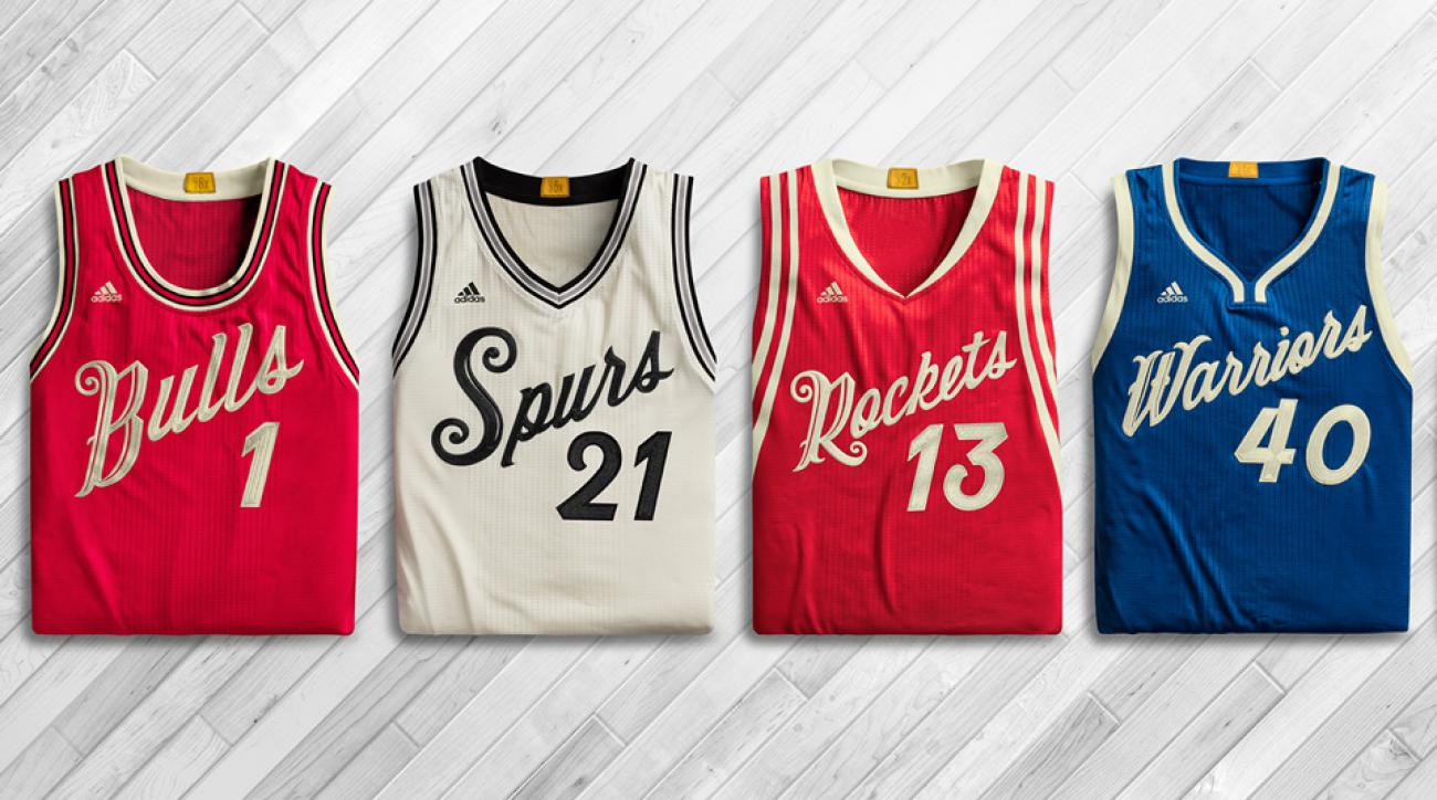 new styles b8d31 d476d NBA unveils 2015 Christmas Day jerseys and socks