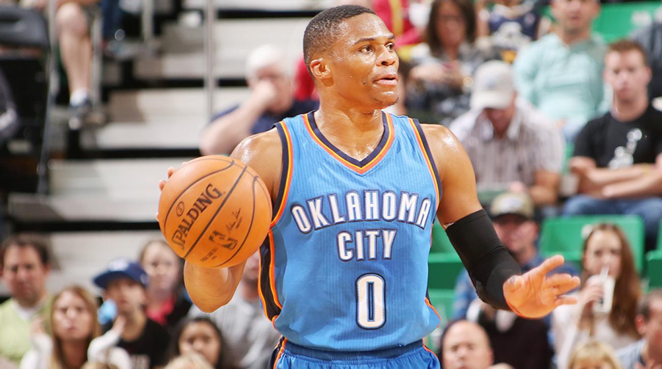 Russell Westbrook buzzer beater Oklahoma City Thunder Orlando Magic