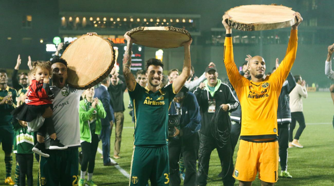Portland Timbers, Sporting Kansas City, MLS playoffs