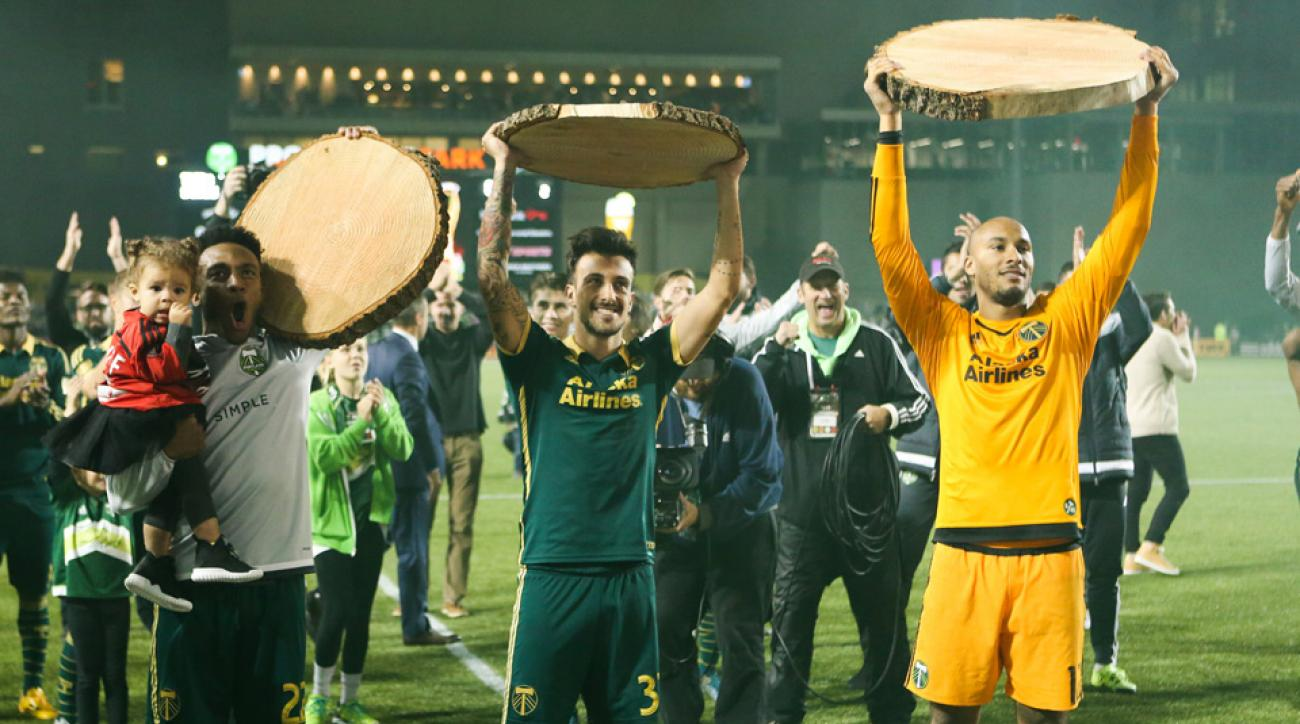 Portland Timbers, Sporting Kansas City, MLS playoffs