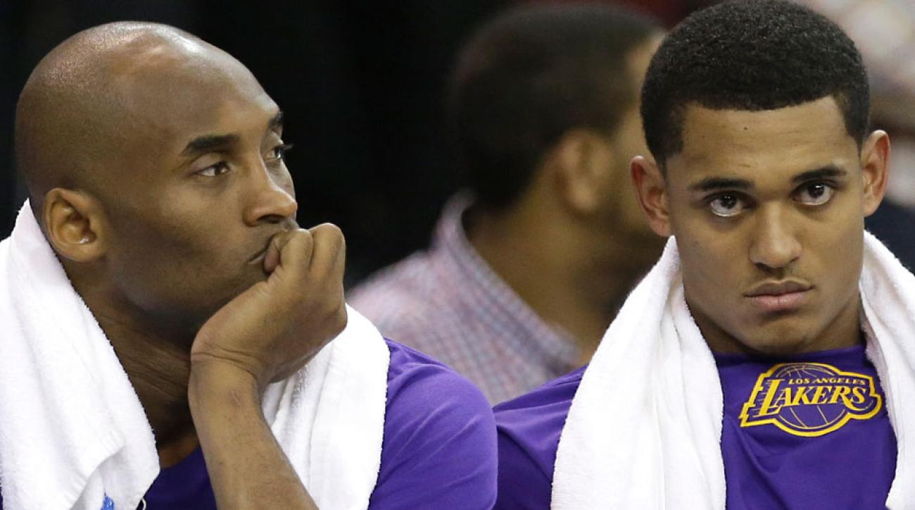 Kobe Bryant Los Angeles Lakers stepping back young players