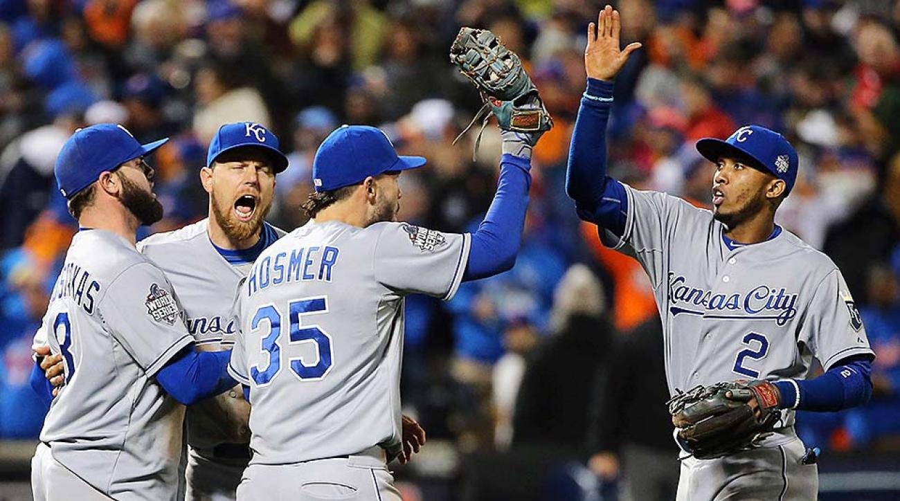 Royals win World Series Game 4