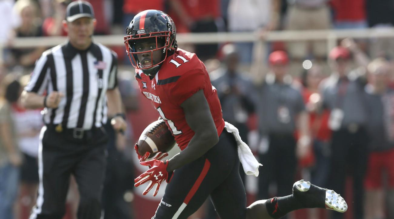 texas tech jakeem grant catch video