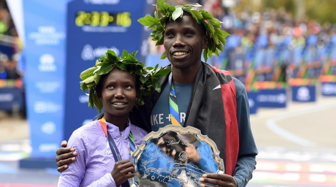 new york city marathon recap mary keitany stanley biwott