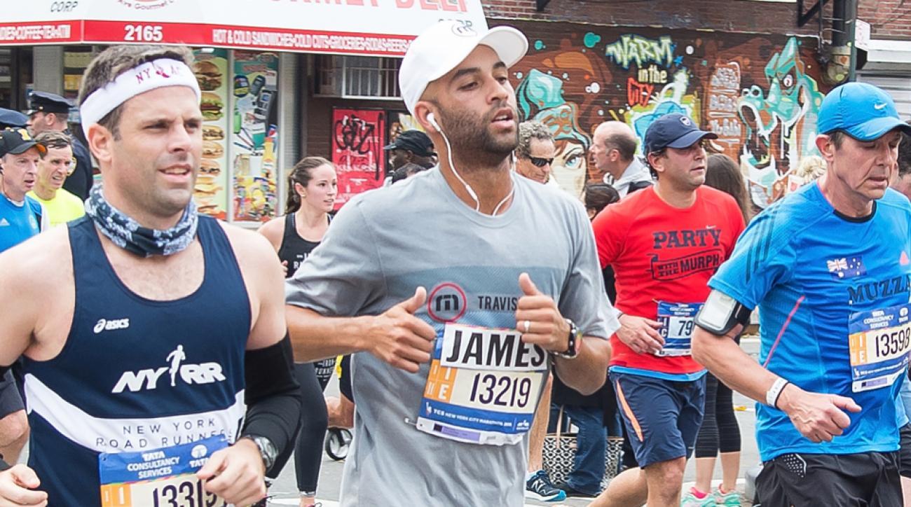 nyc marathon celebrity results alicia keys james blake