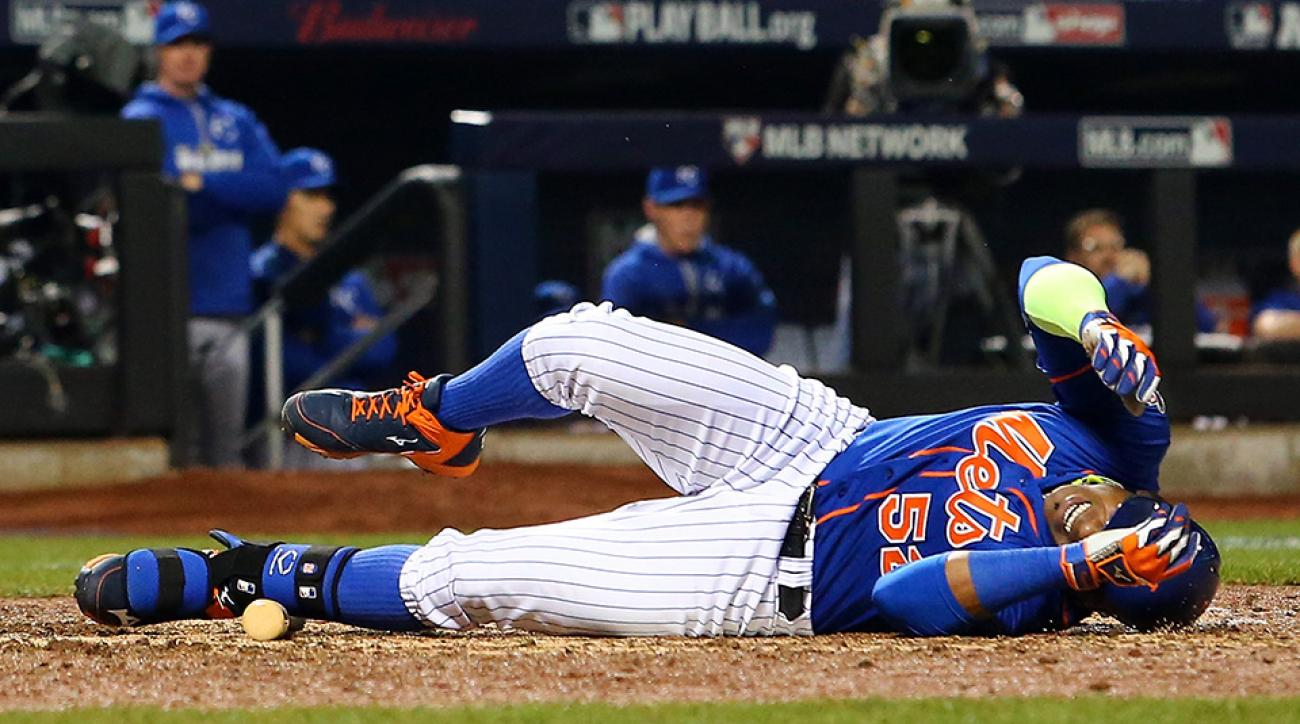 yoenis cespedes injury update mets world series