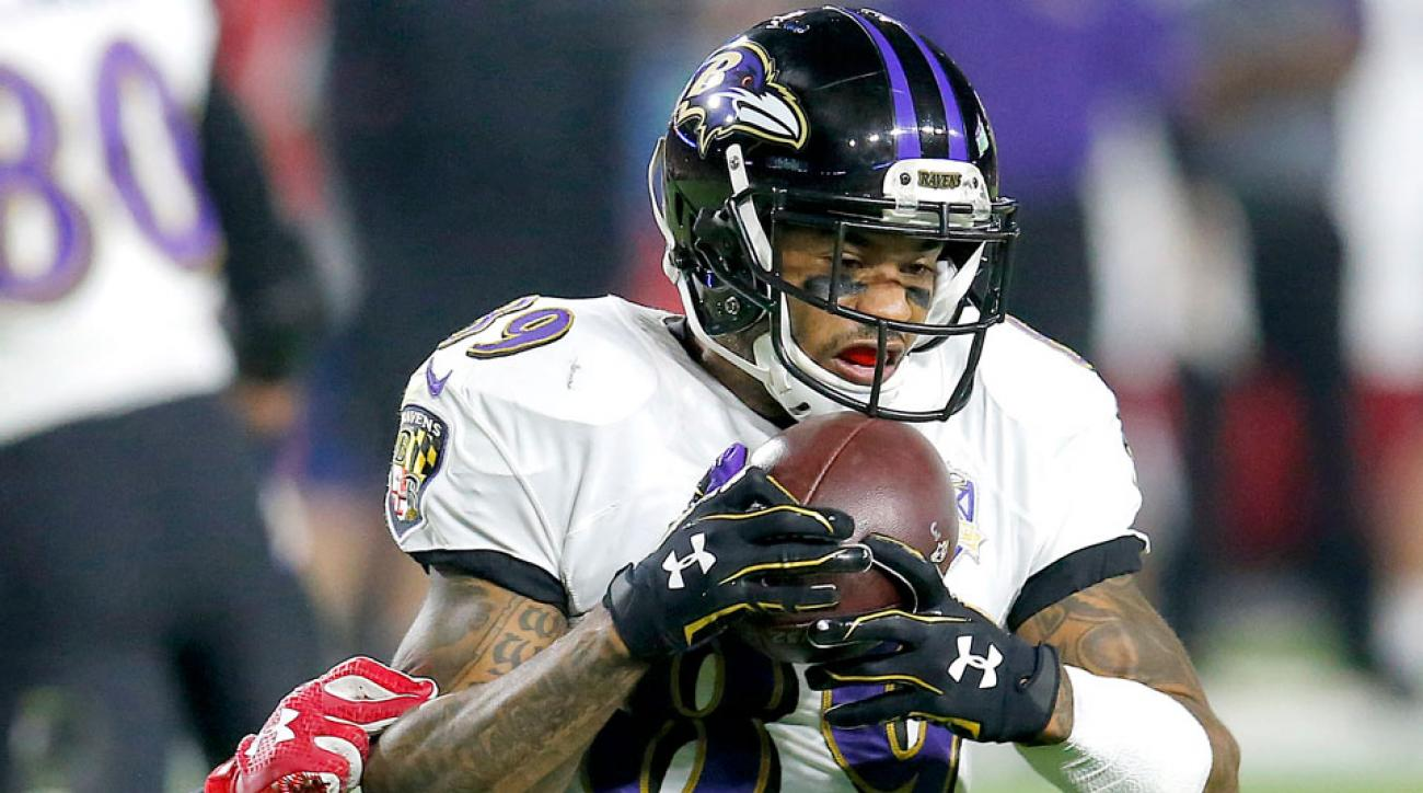 Baltimore Ravens John Harbaugh Steve Smith injury return