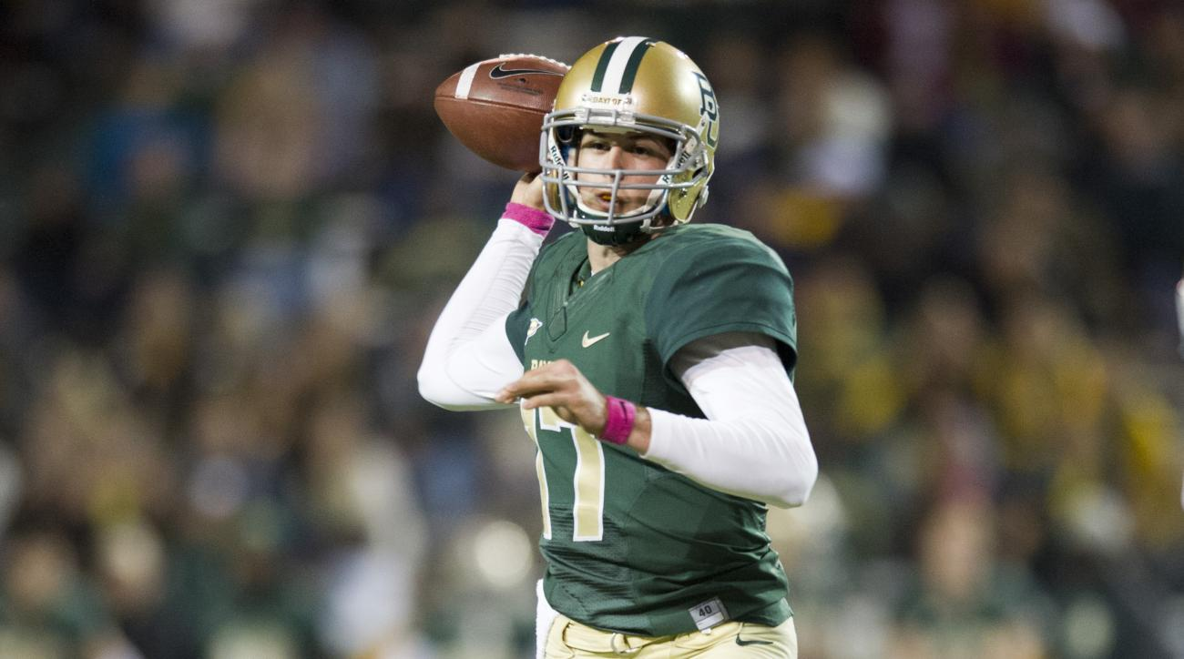 baylor bears seth russell neck surgery recovery