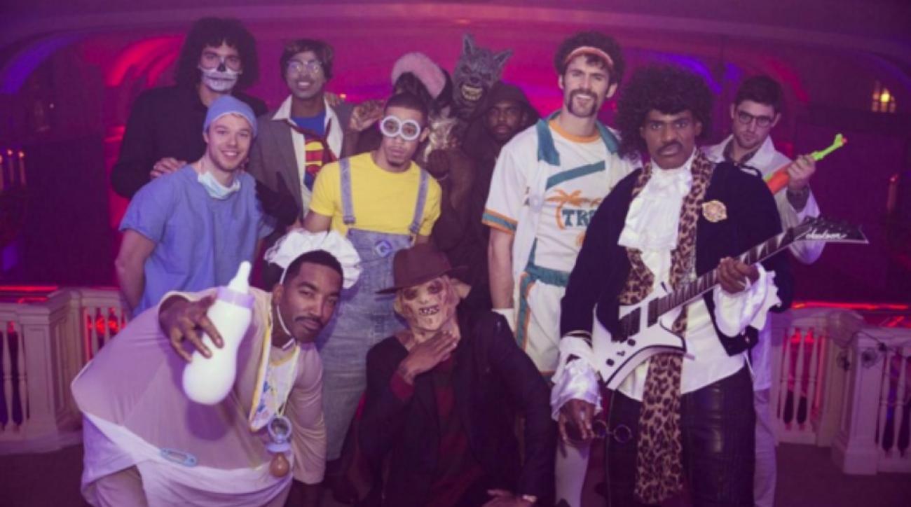LeBron James's Prince Halloween costume | SI.com