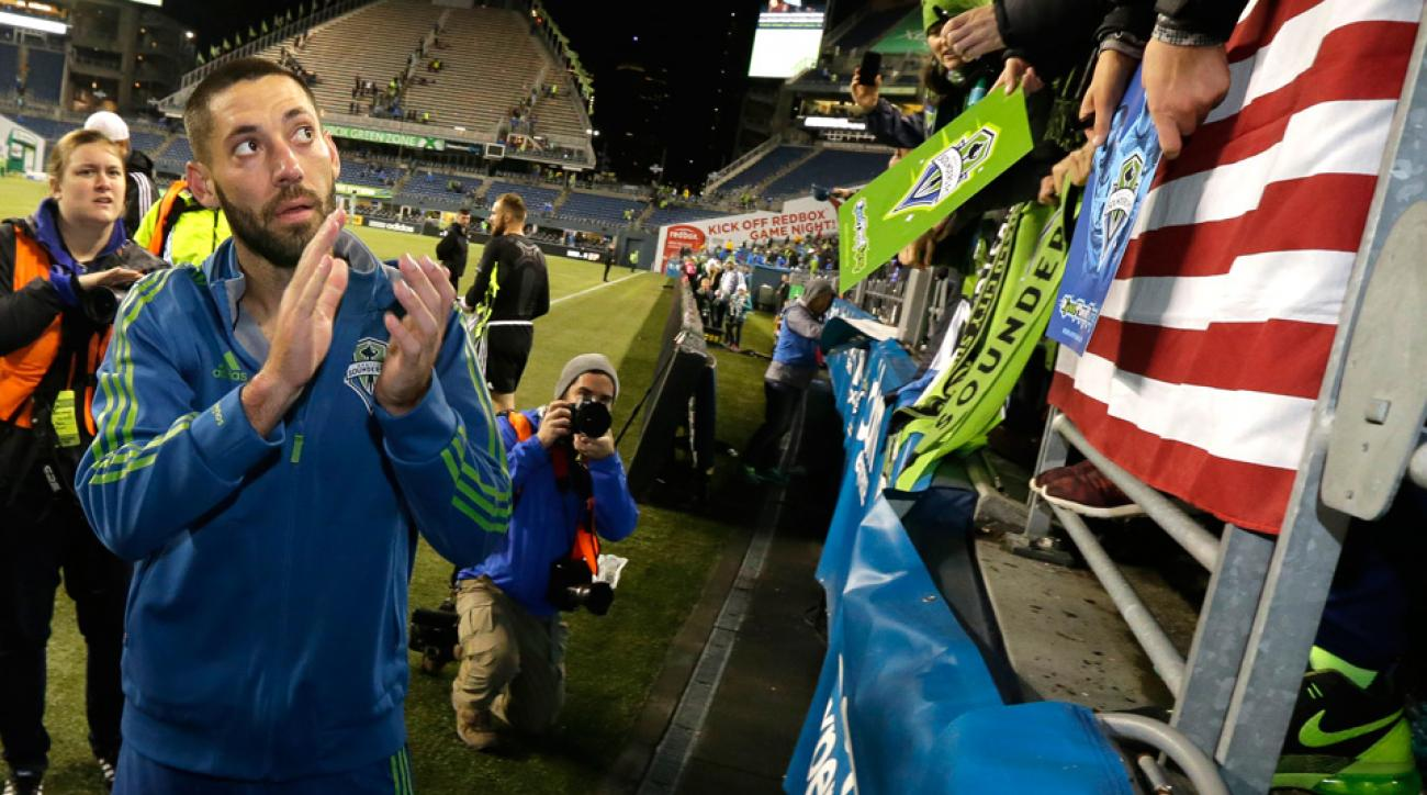 Seattle Sounders playoff hero Clint Dempsey