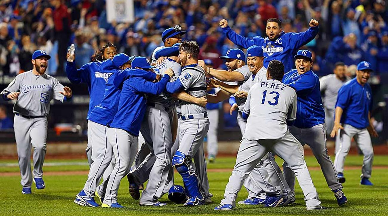 Royals celebrate World Series win