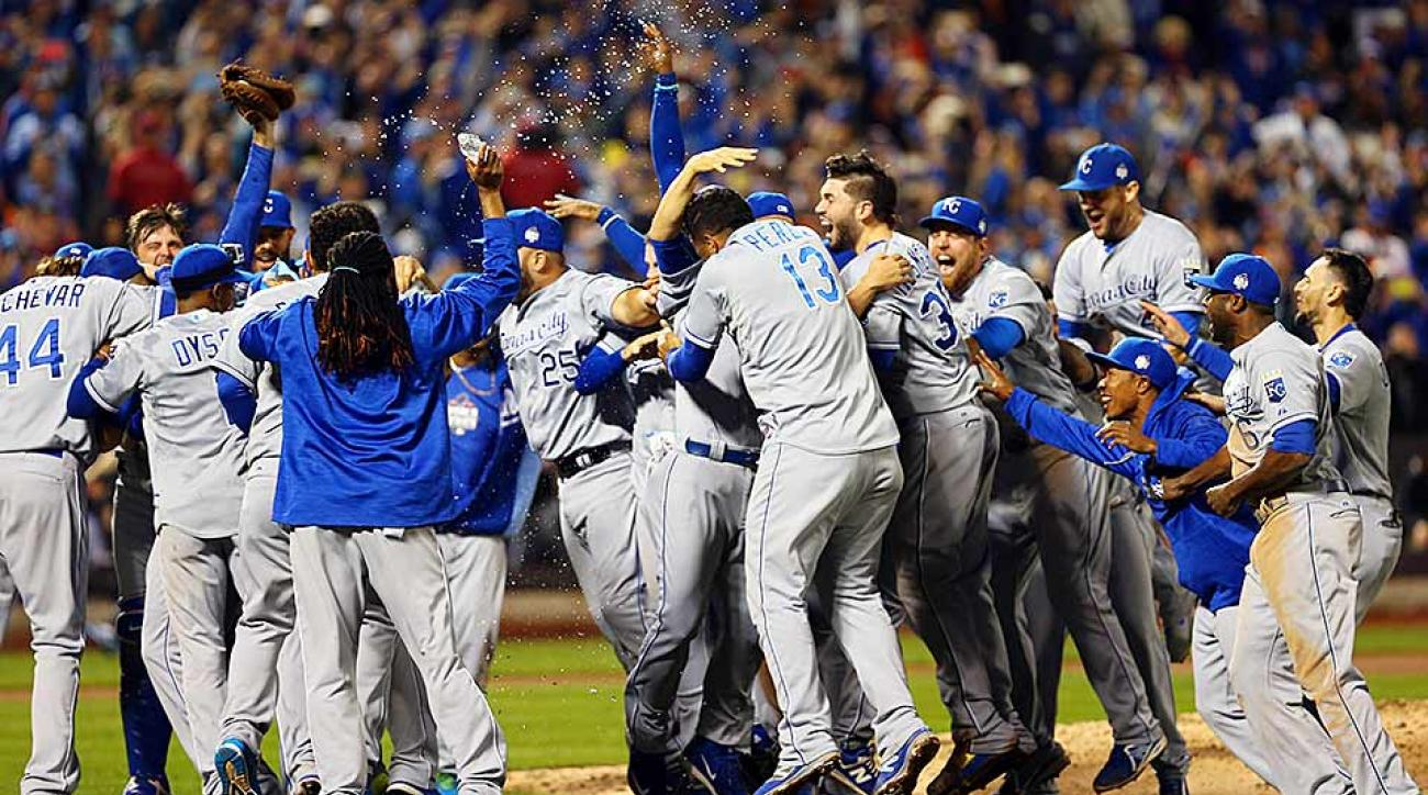 Royals win World Series