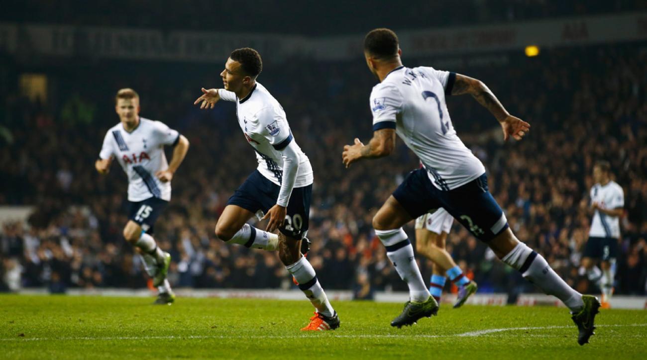 Tottenham beats Aston Villa in the Premier League