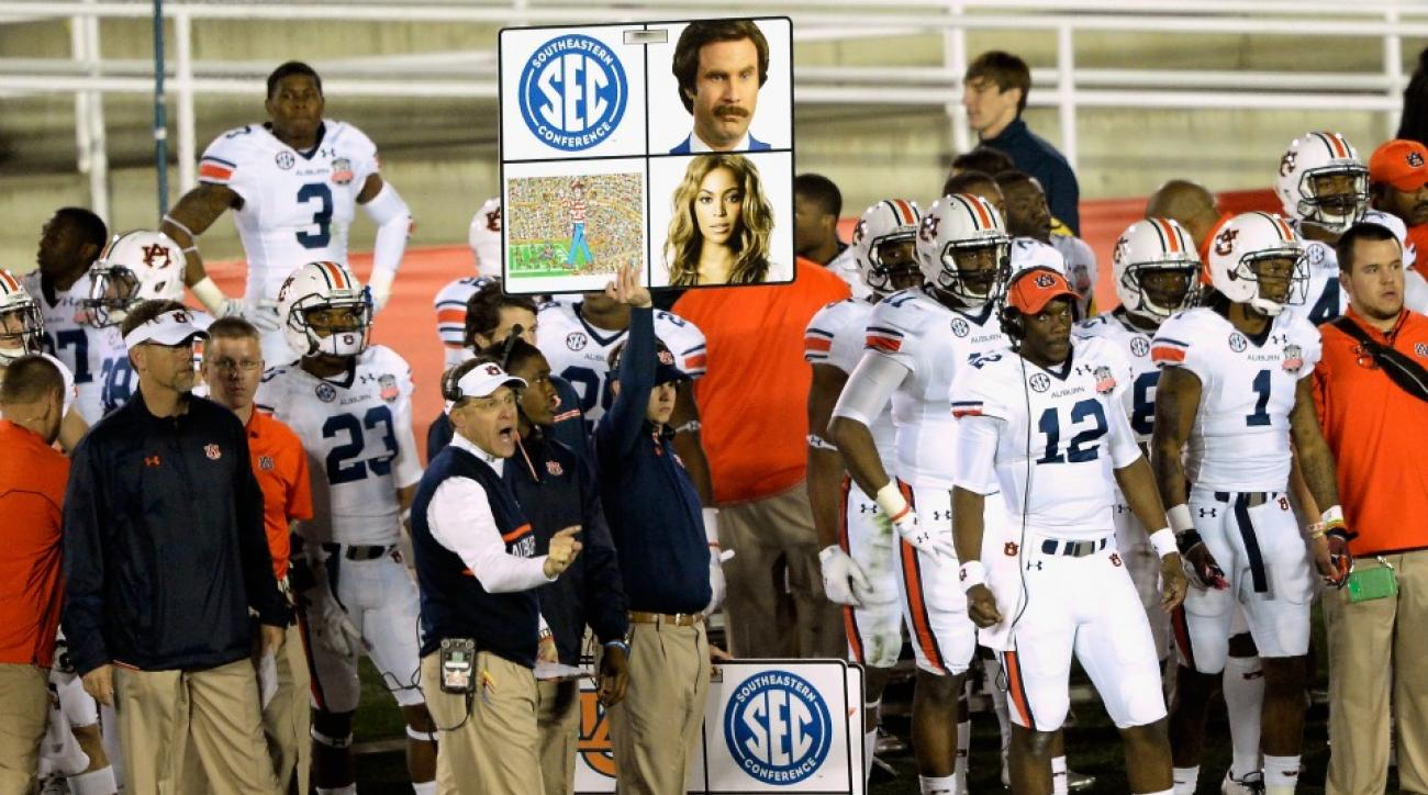 Auburn equipment manager uses play call sign to propose