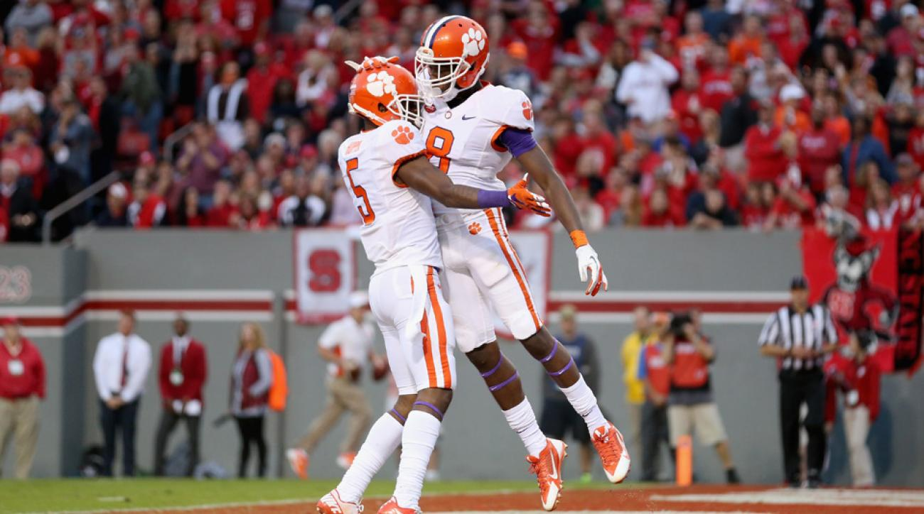clemson tigers college football playoff rankings