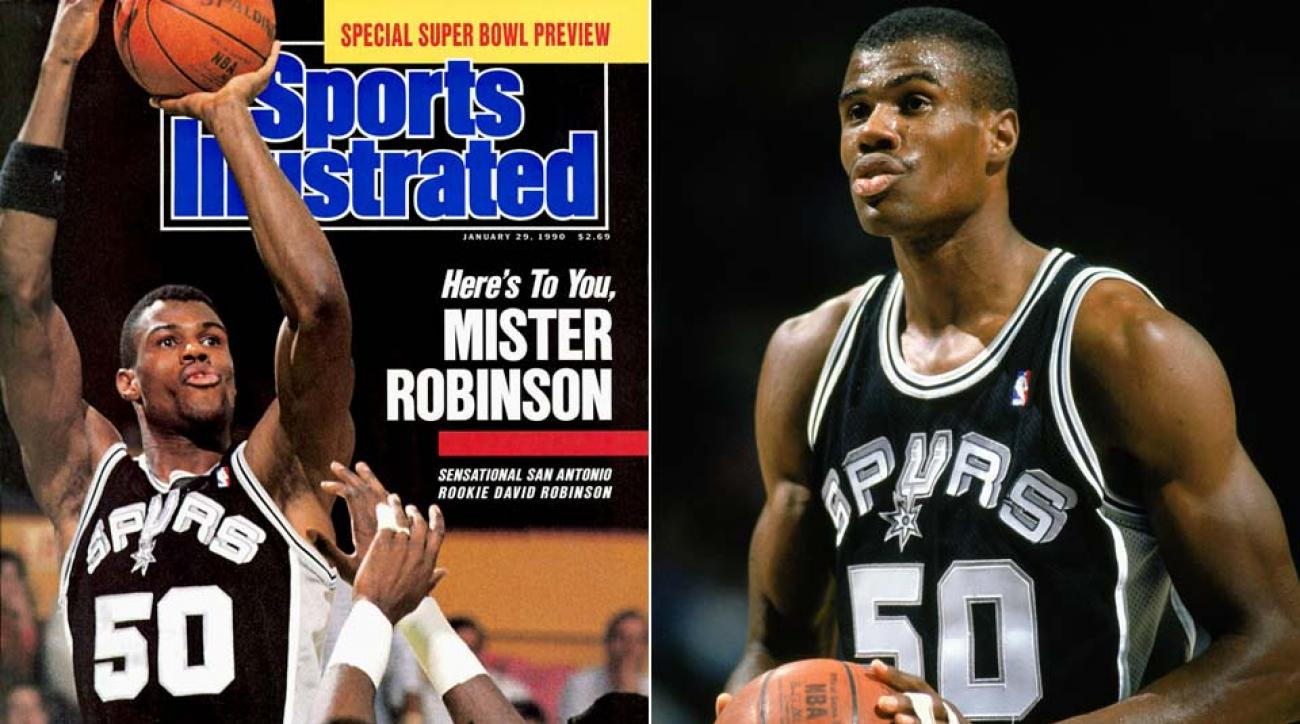 Remembering David Robinson's rookie season on 26-year
