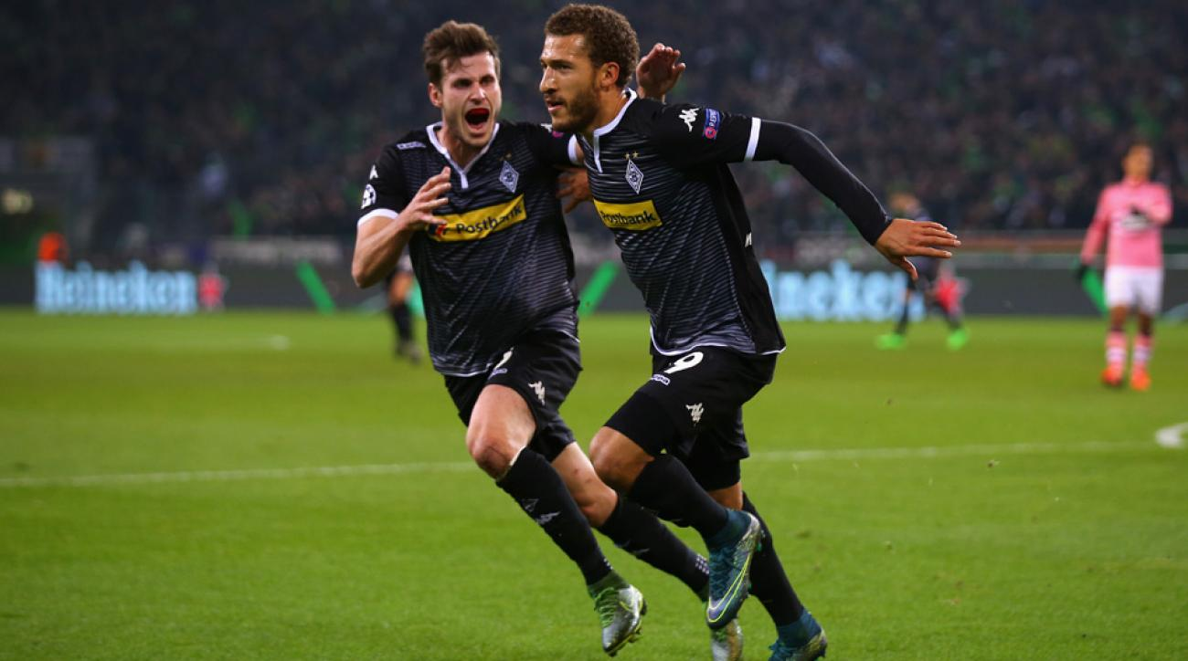 Fabian Johnson scores in the Champions League
