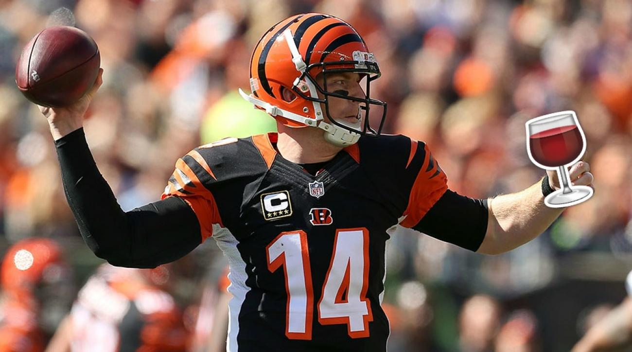 andy dalton bengals browns thursday night