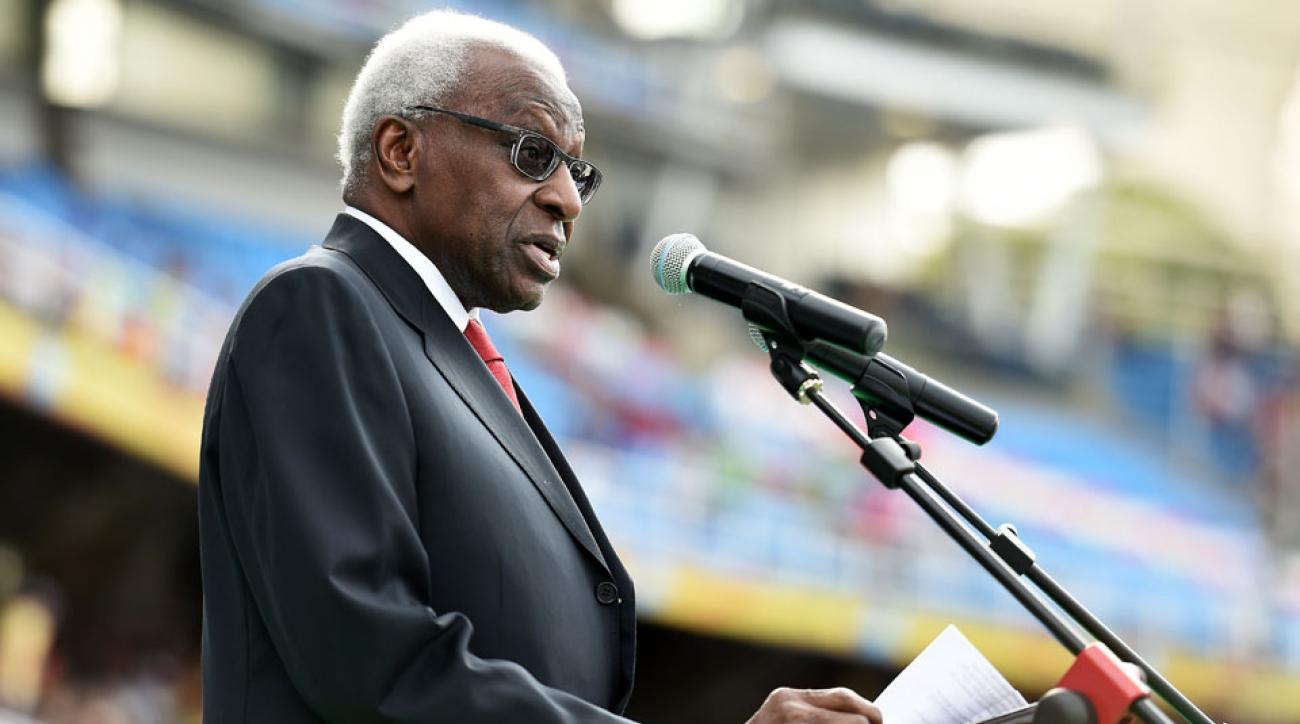 iaaf president lamine diack criminal investigation doping cover up