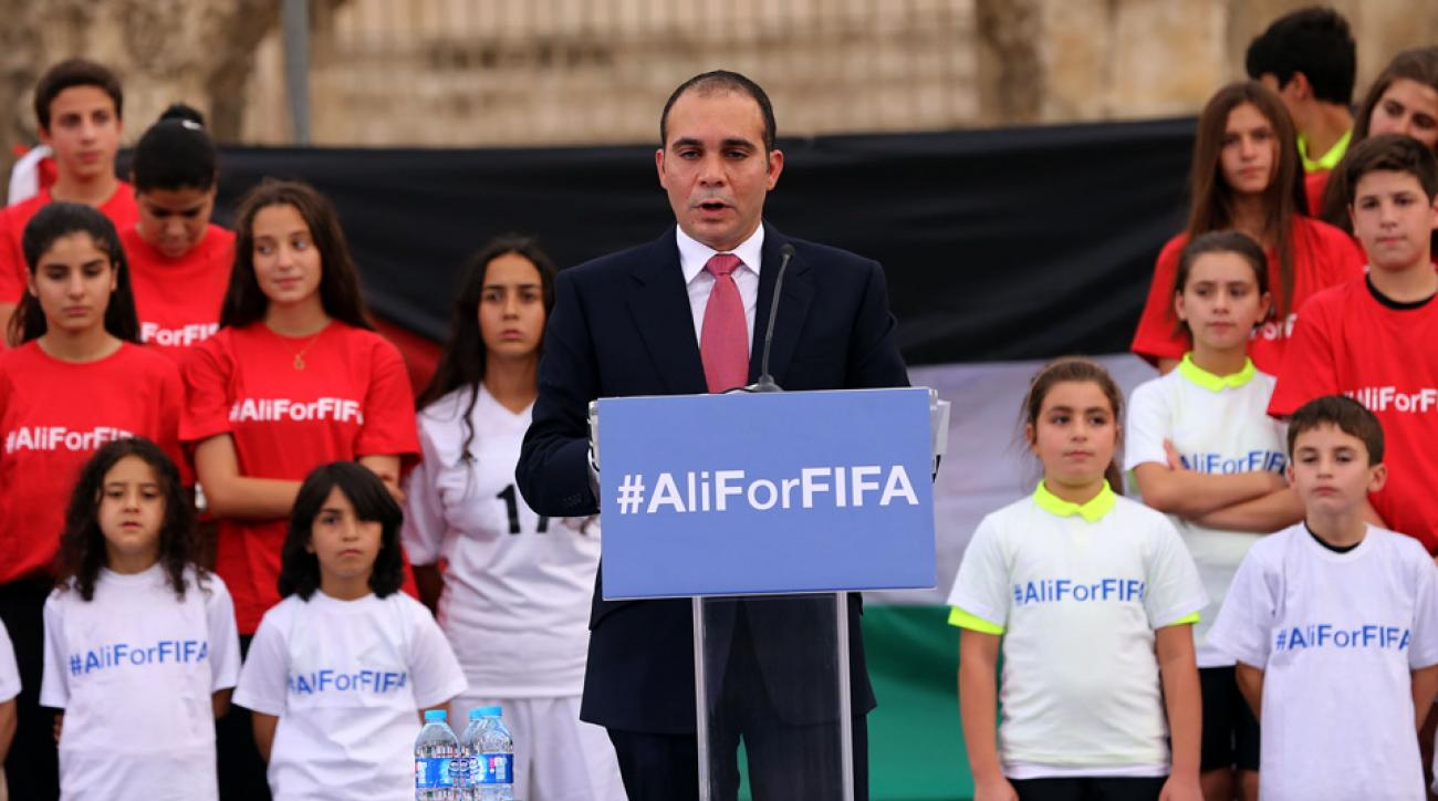 Prince Ali, FIFA presidential candidate