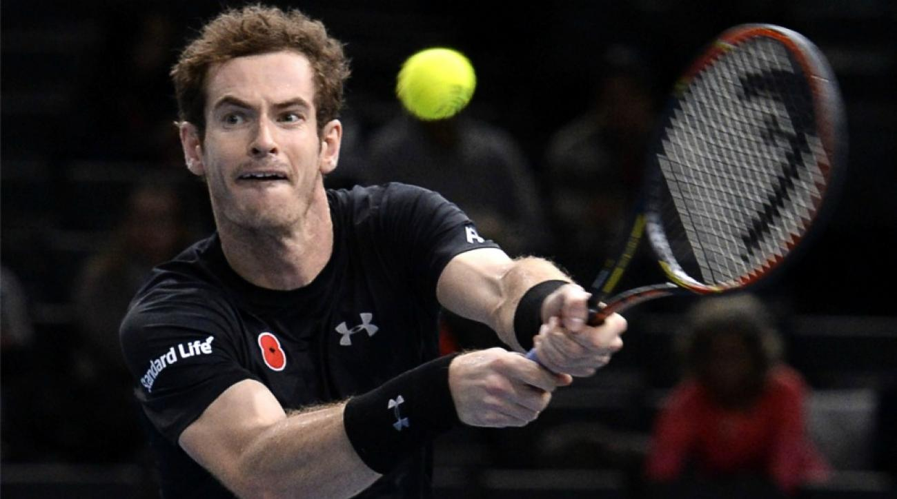 Andy Murray got an apology note from a ball girl at the Paris Masters