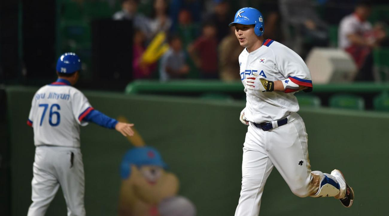 byung ho park posting fee accepted nexen heros