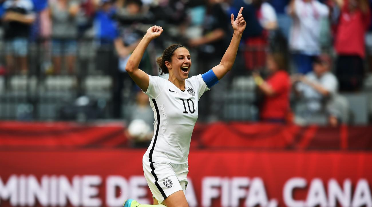 Carli Lloyd, Lionel Messi nominated for FIFA goal of the year