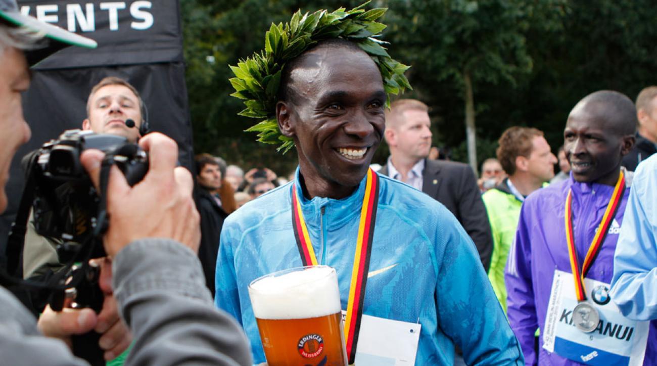 eliud kipchoge mare dibaba marathoner of the year