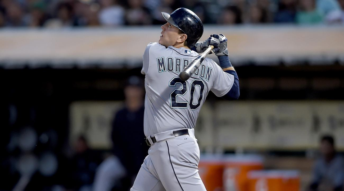 mlb rumors news logan morrison mariners rays trade