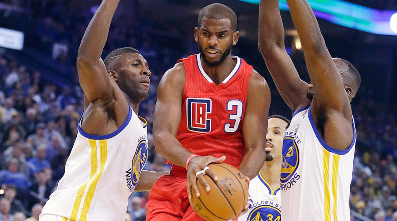Chris Paul groin injury Los Angeles Clippers Houston Rockets