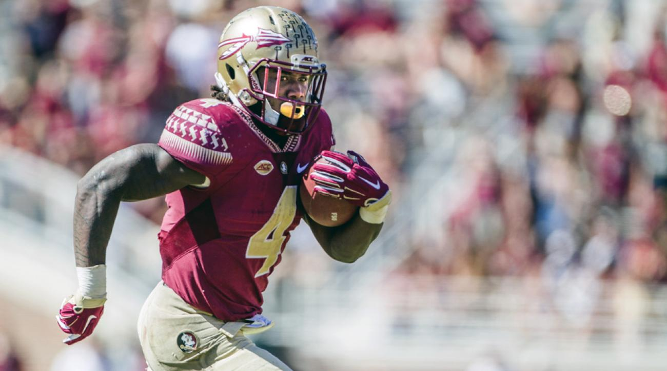 dalvin cook florida state clemson touchdown