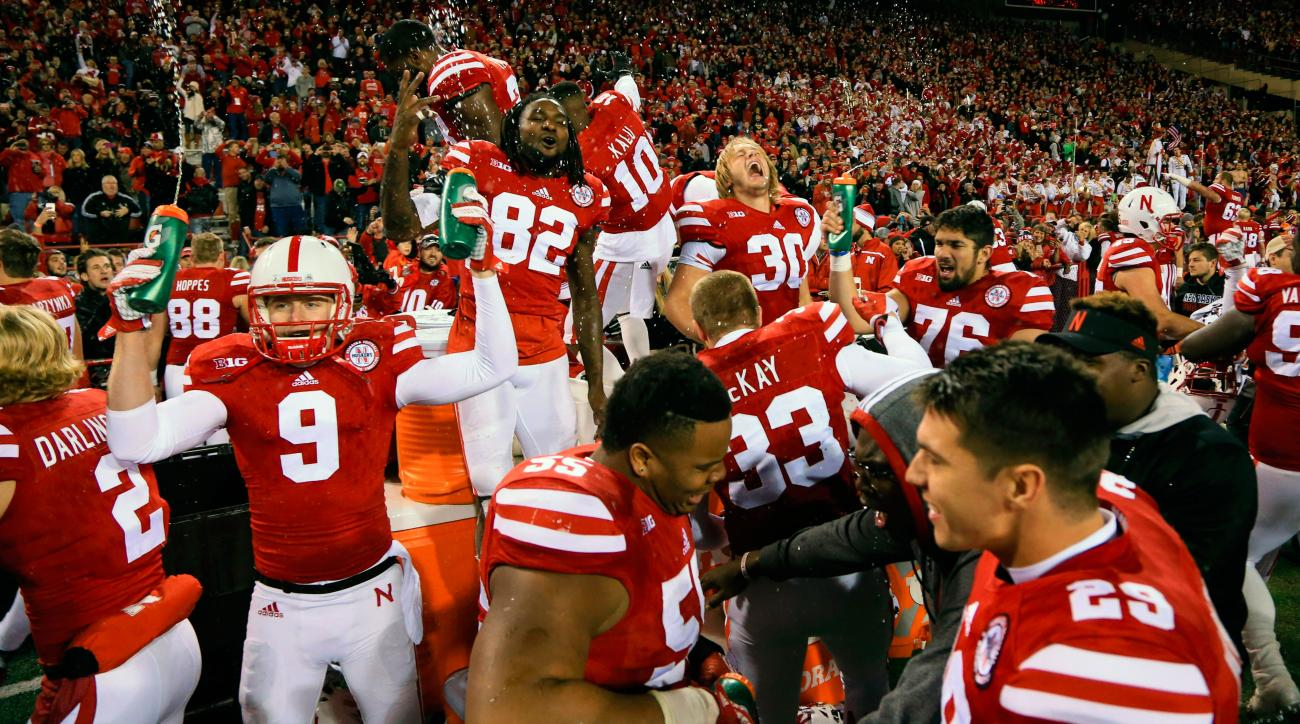 nebraska beats michigan state upset highlights