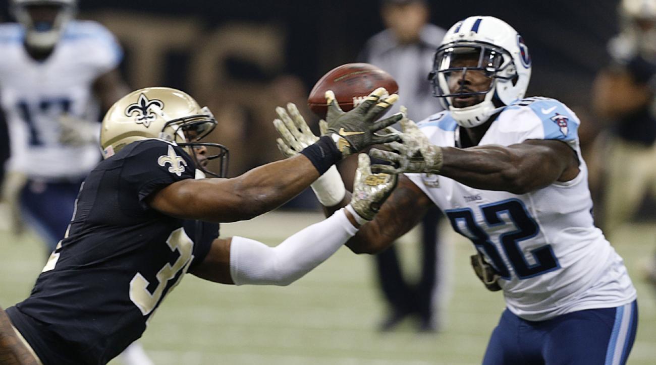 delanie walker titans saints touchdown video