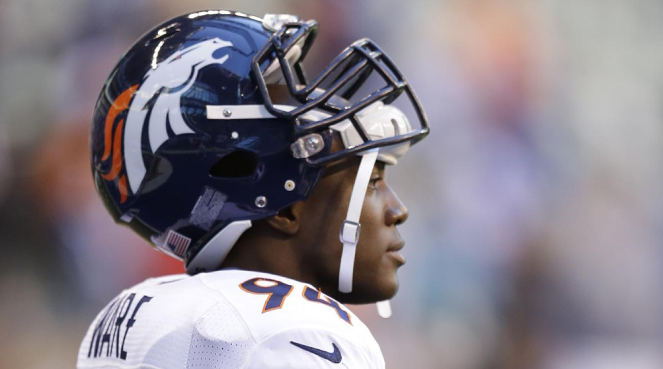 broncos injury demarcus ware colts