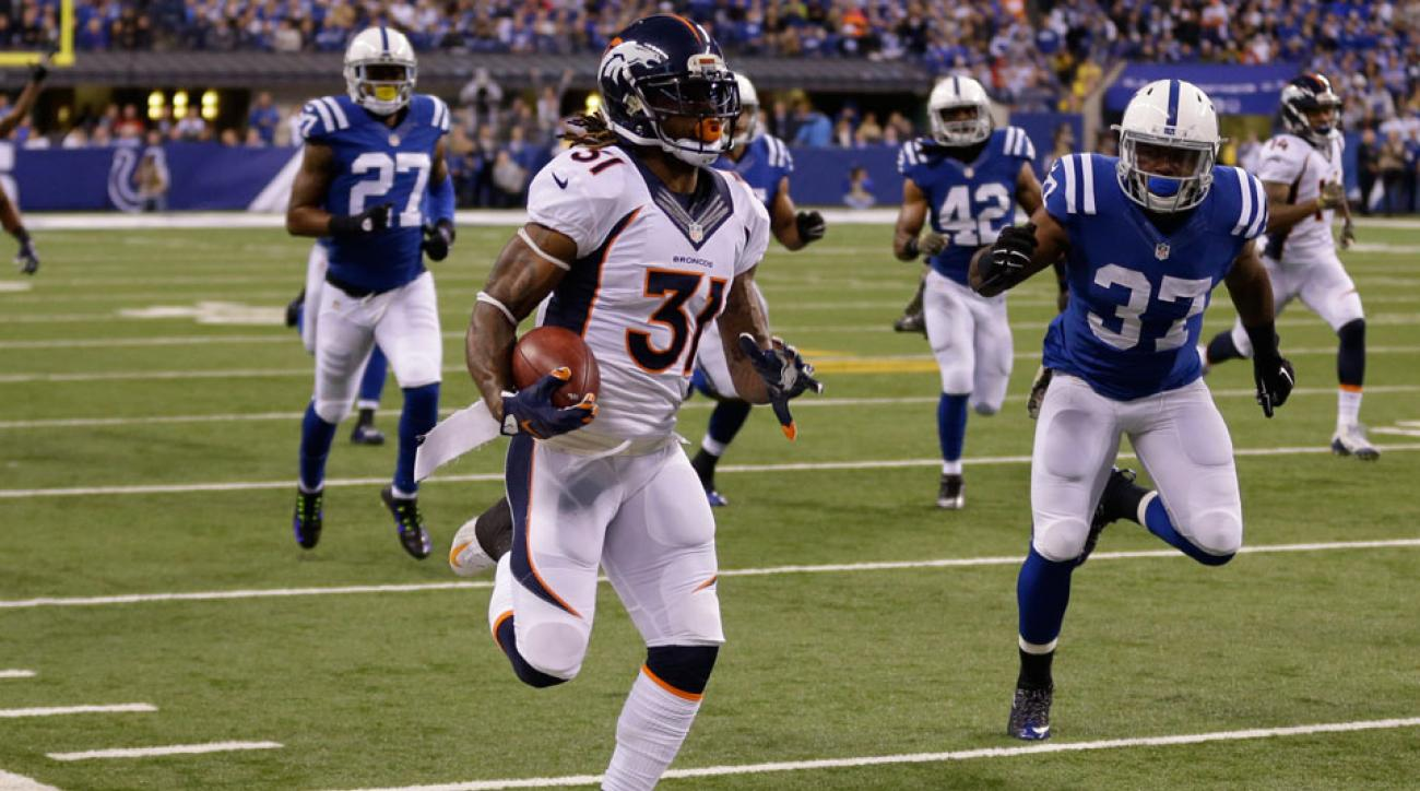 Denver Broncos Omar Bolden punt return touchdown video