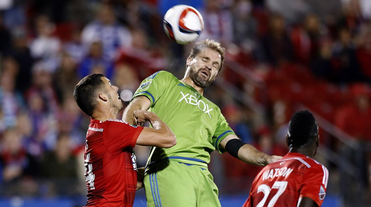 mls playoffs fc dallas seattle sounders goals video