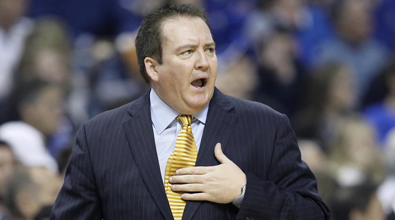 The ban is the result of an NCAA investigation involving former head coach Donnie Tyndall.