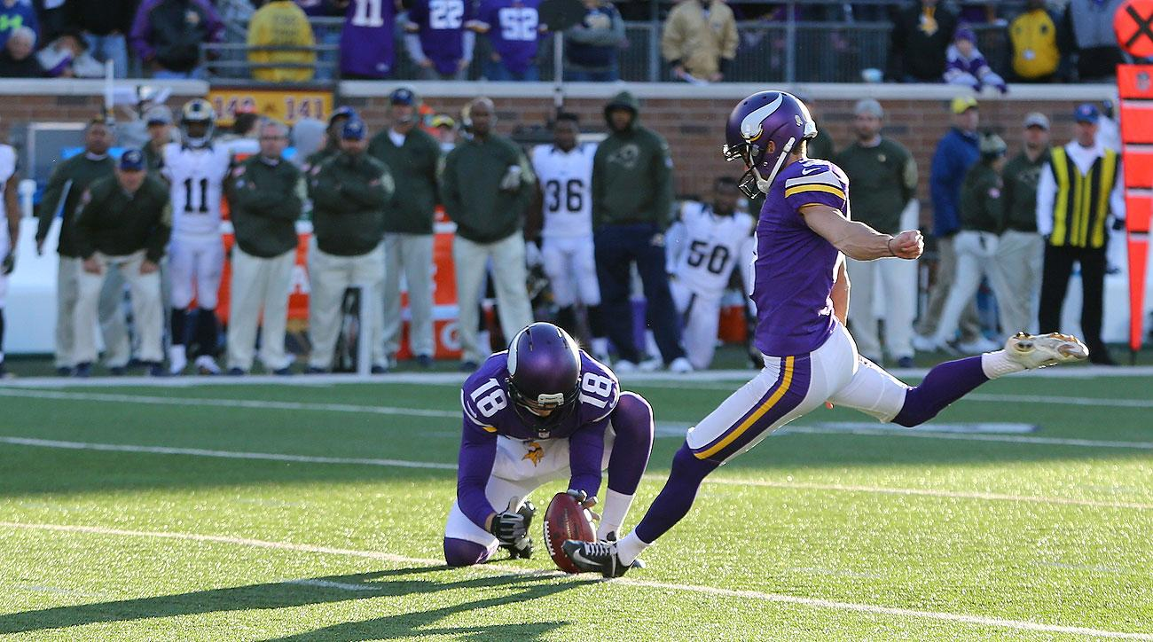 Blair Walsh's winning field goal came after the Vikings opted to defend to start overtime.