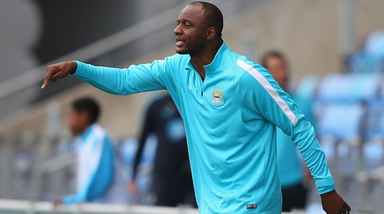 Patrick Vieira, NYCFC, Manchester City