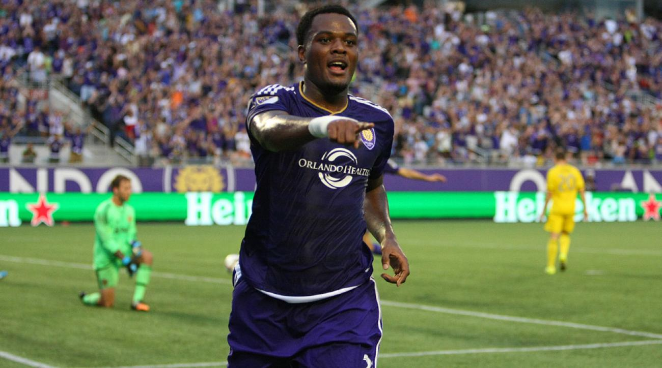 Orlando City forward Cyle Larin