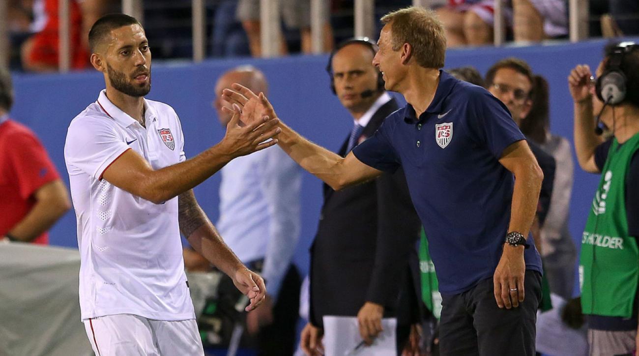 USMNT's Clint Dempsey and Jurgen Klinsmann