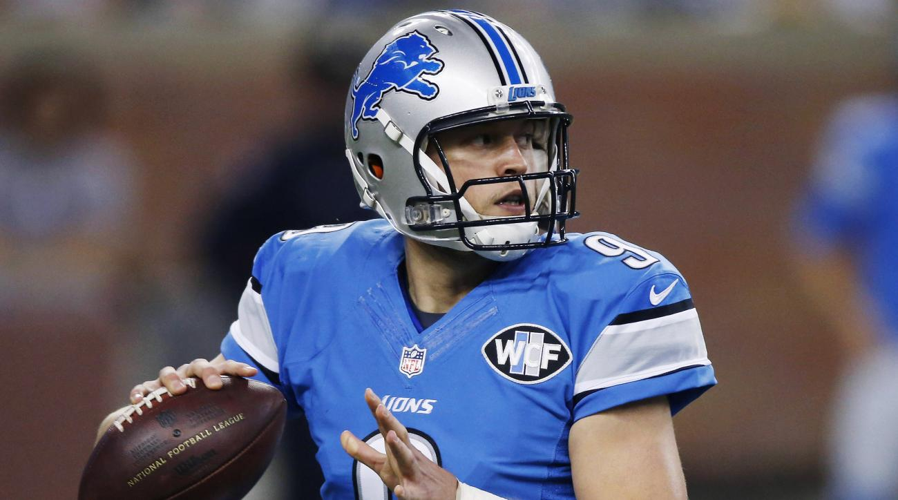 Matthew Stafford hopes to play with Lions 'for a long time'