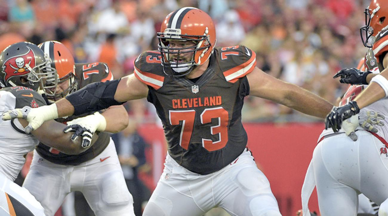 Image result for joe thomas blocks two people
