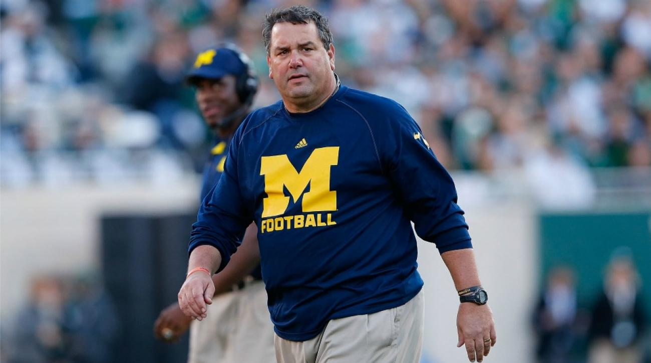 Brady Hoke once fell asleep on a recruits couch