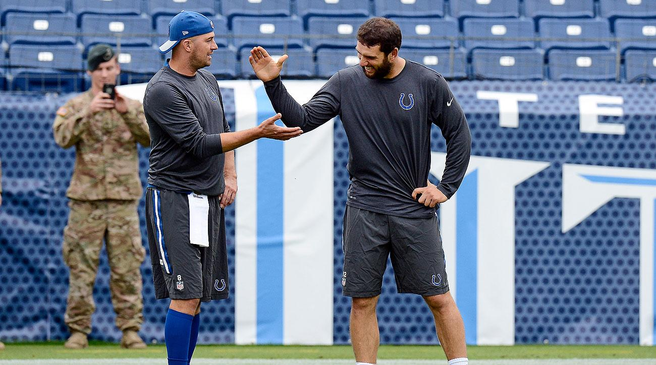 With Andrew Luck out, Matt Hasselbeck will step in to quarterback the Colts.