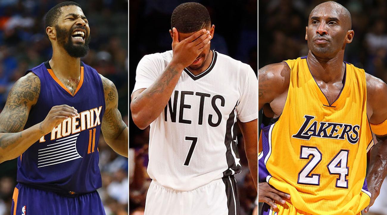 Markieff Morris; Joe Johnson; Kobe Bryant