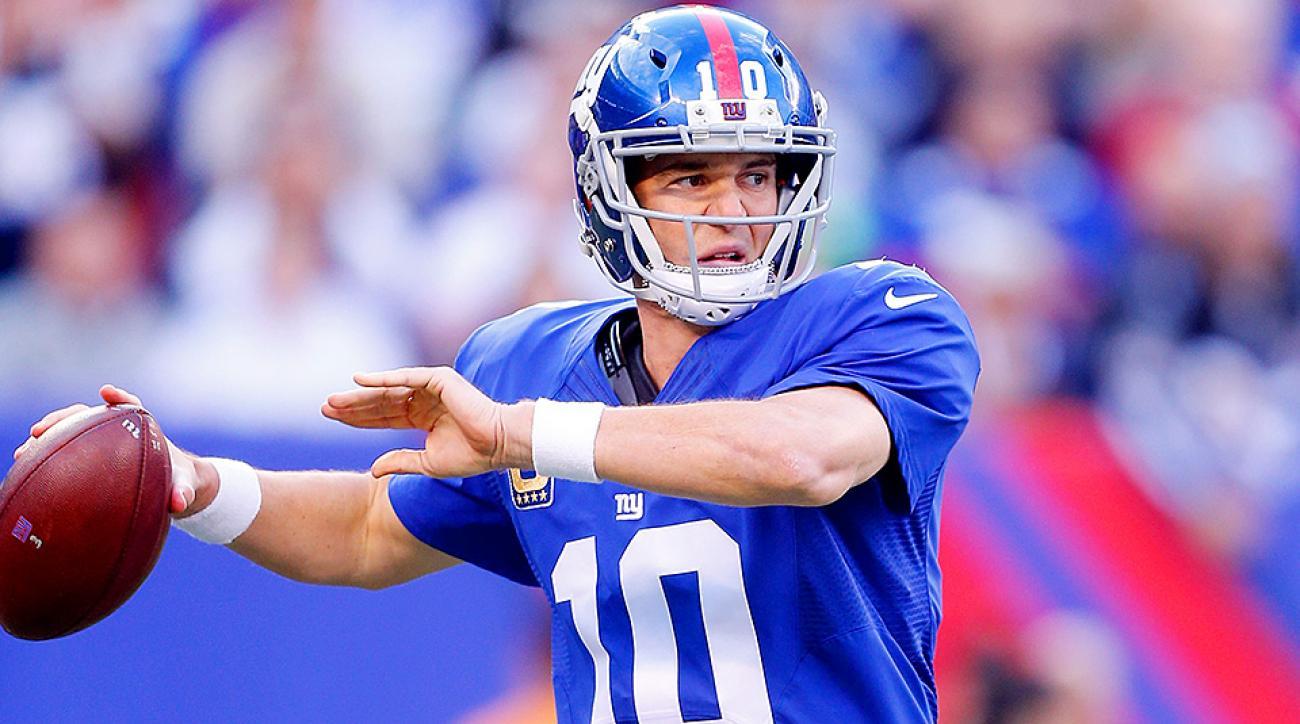 NFL Odds Week 10: Eli Manning, Giants look to stun unbeaten Patriots