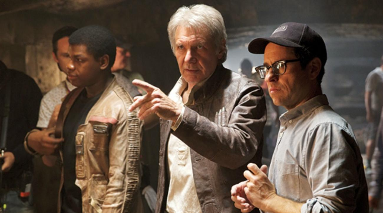 Star Wars: The Force Awakens star Harrison Ford talks about trailer premiere