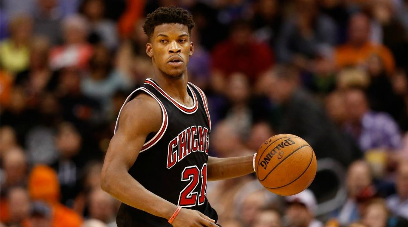 Chicago Bulls' Jimmy Butler bought a fish tank shaped like a boombox