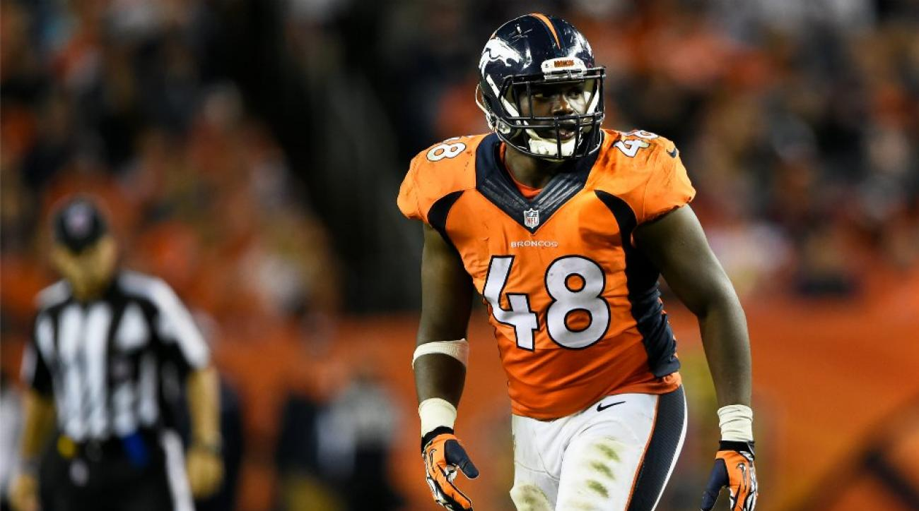 Denver Broncos' Shaqil Barrett ate pasta with sugar on it